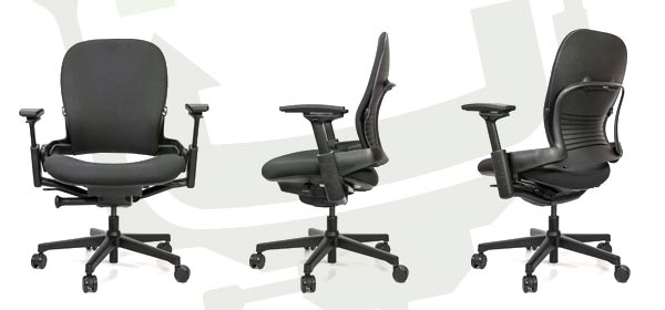 Steelcase Leap Plus Chair Angles
