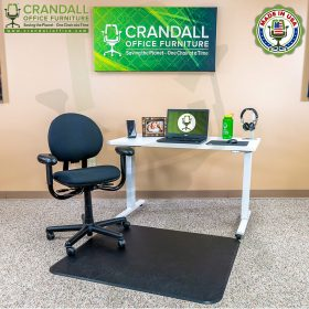 Crandall Office Work From Home Chair & Desk Bundle with Steelcase Criterion Chair 02