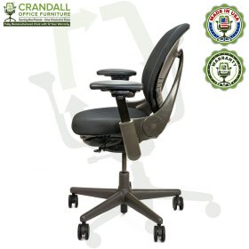 Remanufactured Steelcase 462 V1 Leap Chair with Midnight Frame 004