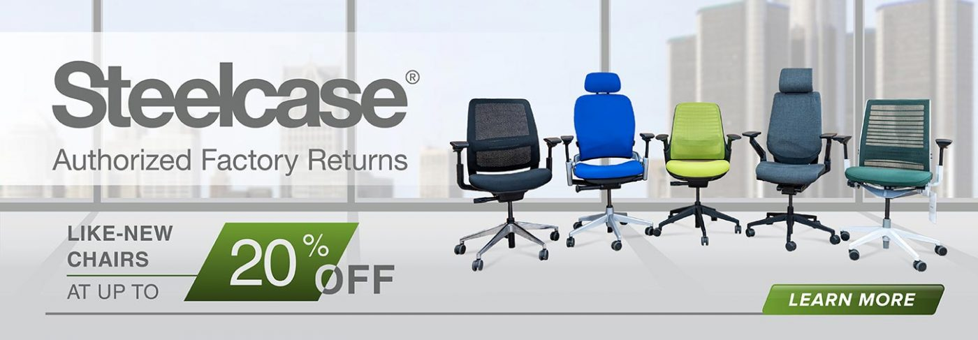 Steelcase Authorized Factory Returns Home Page Banner 2