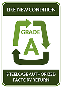 Steelcase Authorized Factory Returns Grade A