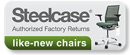 Shop Header - Steelcase Authorized Returned Chairs