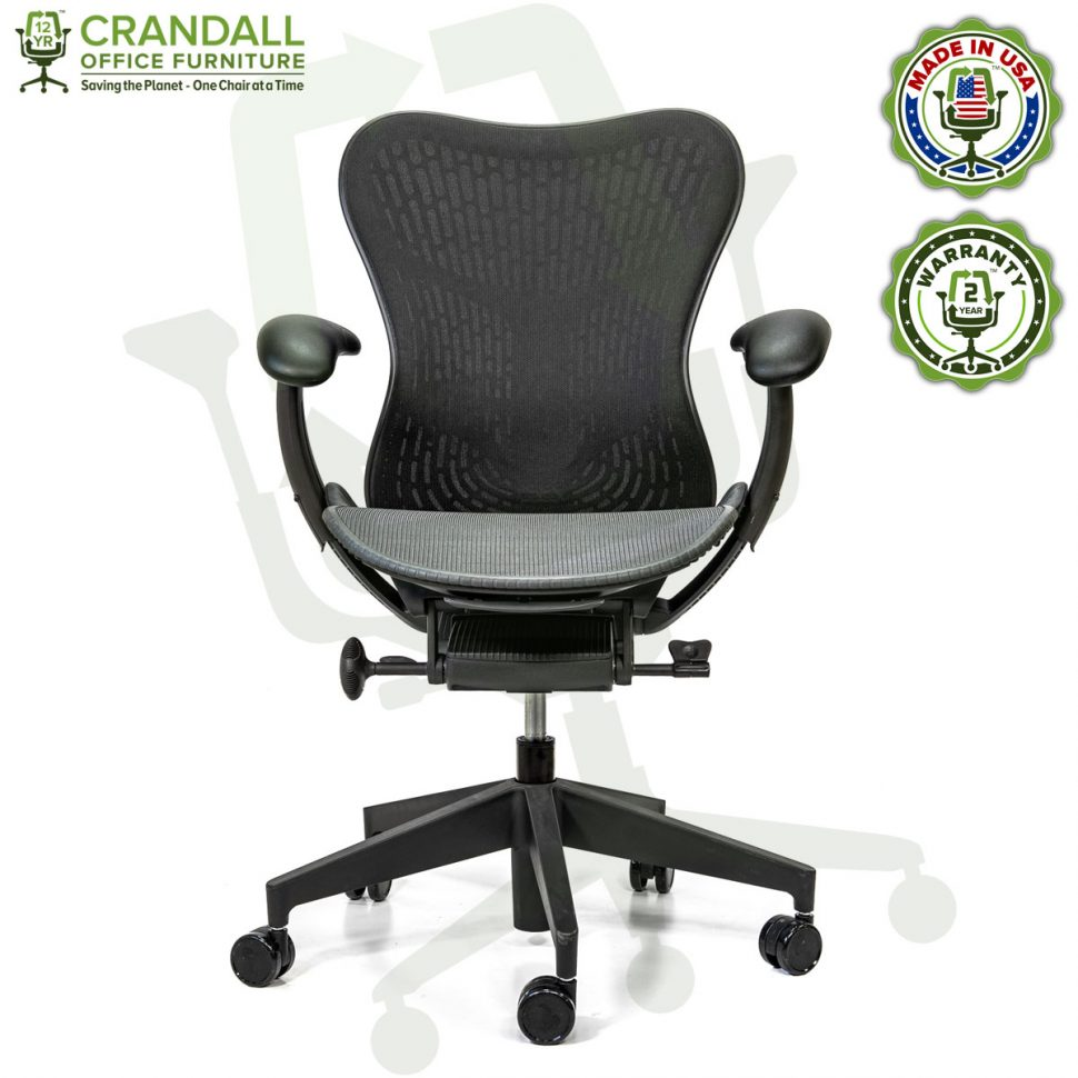 Crandall Office Refurbished Herman Miller Mirra 2 Office Chair with 2 Year Warranty