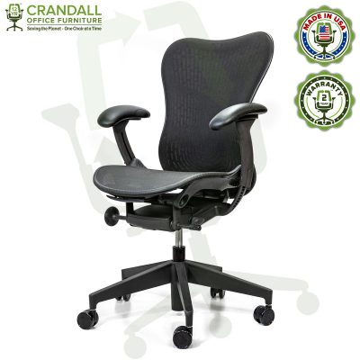 Crandall Office Refurbished Herman Miller Mirra 2 Office Chair with 2 Year Warranty 02