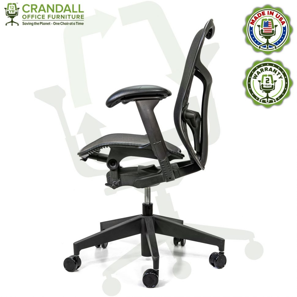 Crandall Office Refurbished Herman Miller Mirra 2 Office Chair with 2 Year Warranty 03