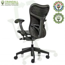 Crandall Office Refurbished Herman Miller Mirra 2 Office Chair with 2 Year Warranty 04