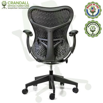 Crandall Office Refurbished Herman Miller Mirra 2 Office Chair with 2 Year Warranty 05