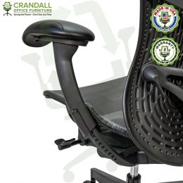 Crandall Office Refurbished Herman Miller Mirra 2 Office Chair with 2 Year Warranty 06