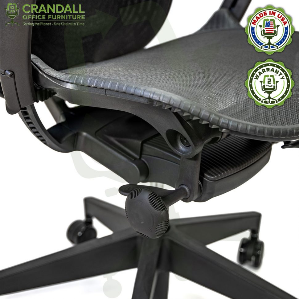 Crandall Office Refurbished Herman Miller Mirra 2 Office Chair with 2 Year Warranty 07