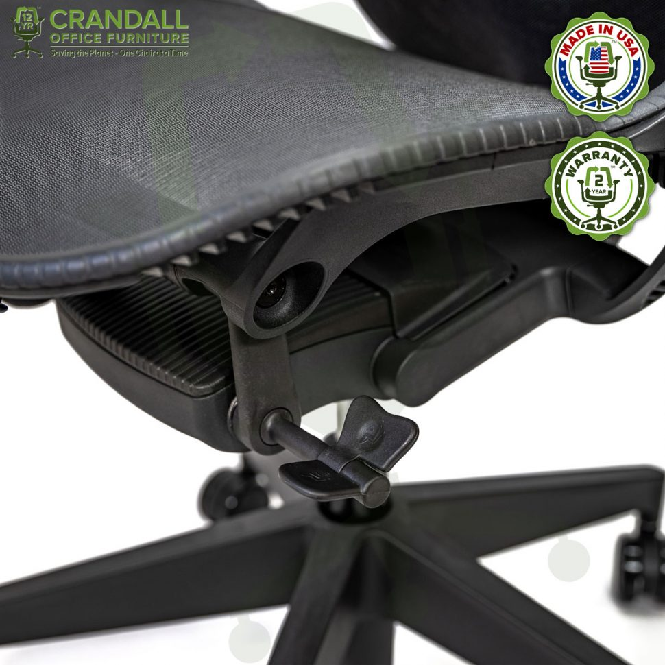 Crandall Office Refurbished Herman Miller Mirra 2 Office Chair with 2 Year Warranty 08