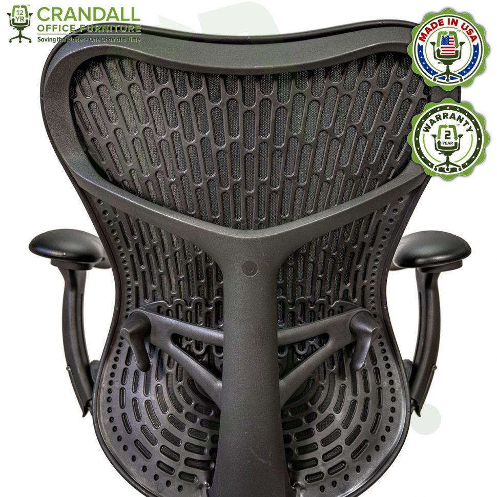 Crandall Office Refurbished Herman Miller Mirra 2 Office Chair with 2 Year Warranty 09