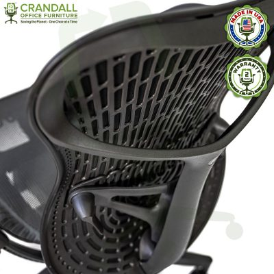 Crandall Office Refurbished Herman Miller Mirra 2 Office Chair with 2 Year Warranty 10