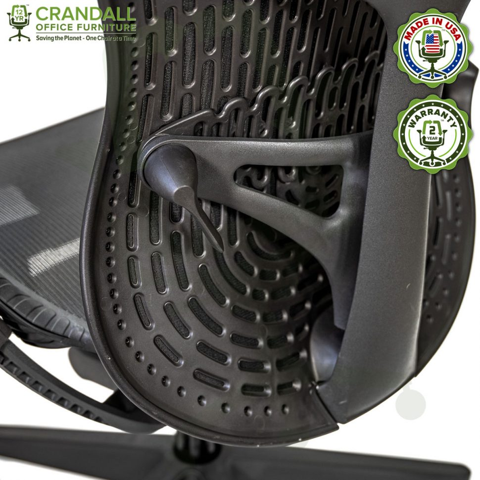 Crandall Office Refurbished Herman Miller Mirra 2 Office Chair with 2 Year Warranty 11