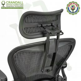 Atlas Suspension Headrest for Herman Miller Aeron Classic Chair 01