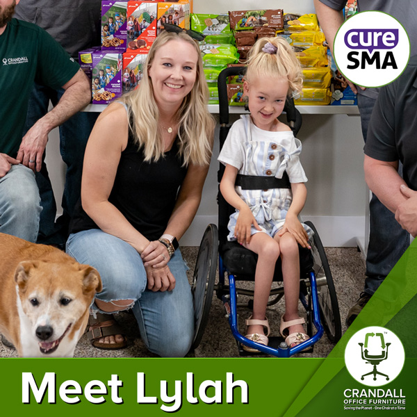 Crandall Office Furniture - Lylah Strong - Cure SMA Meet Lylah