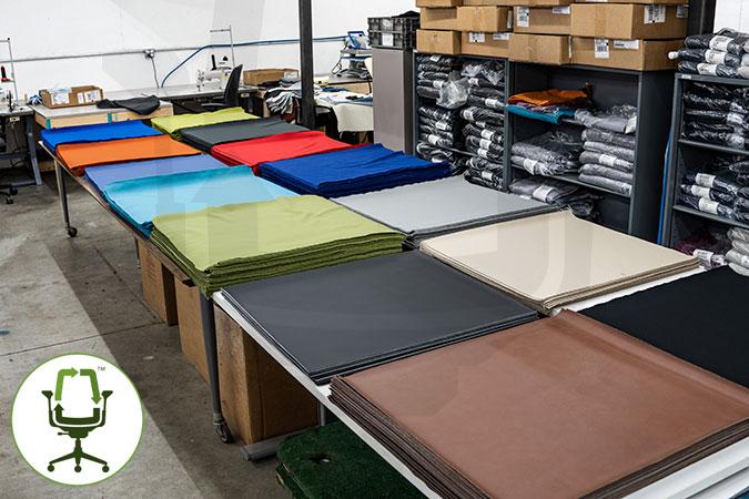 Crandall upholstery department 01