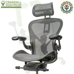 Atlas Suspension Headrest for Herman Miller Aeron Remastered Chair 0001