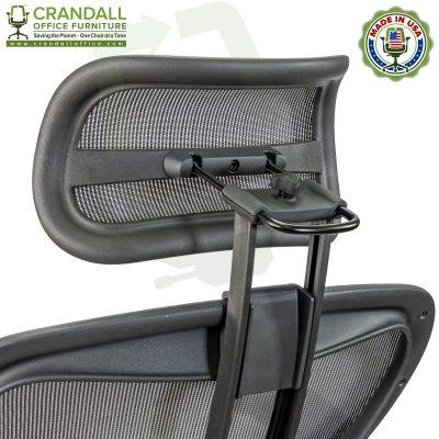Atlas Suspension Headrest for Herman Miller Aeron Remastered Chair 0009