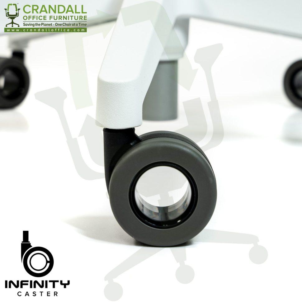 Crandall Office Furniture Infinity Hard Floor Self Braking Casters 0008